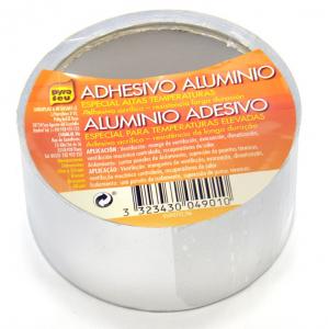 Cinta Adhesiva aluminio resistente a 110ºC