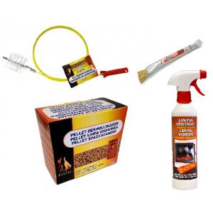 Kit limpieza y mantenimiento estufa de Pellets